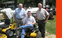 Beau and Roy Johnson, owners Johnson Power Equipment and Rental